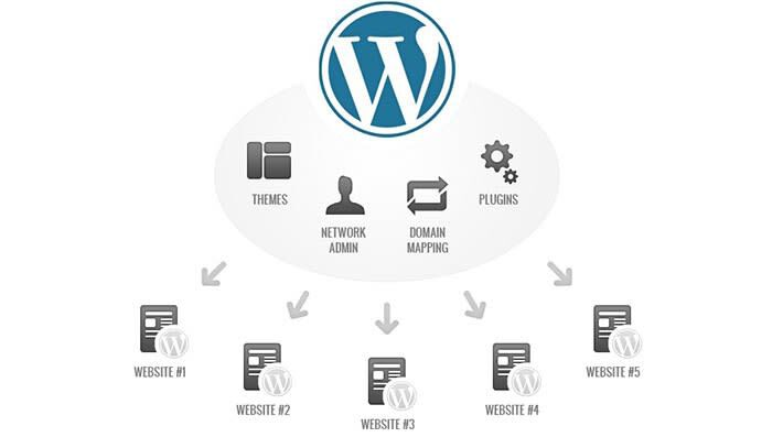 Wordpress multi site