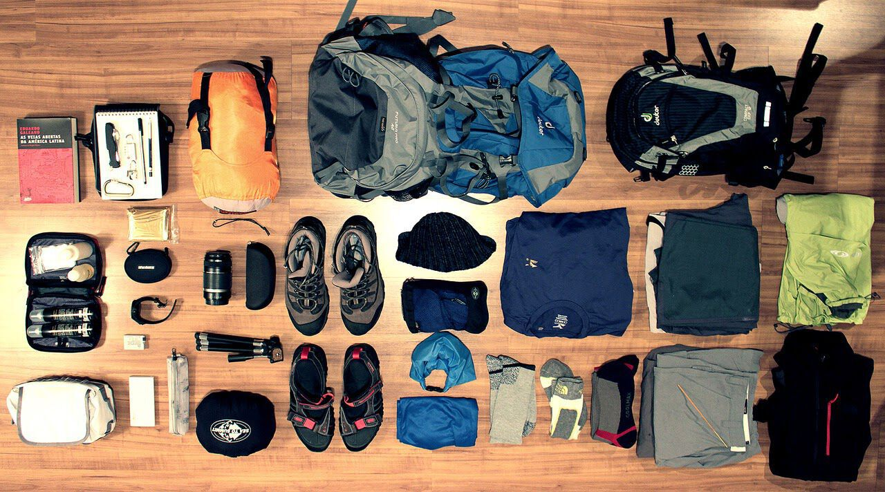 Trekking gear for Chapada Diamantina, Bahia, Brazil