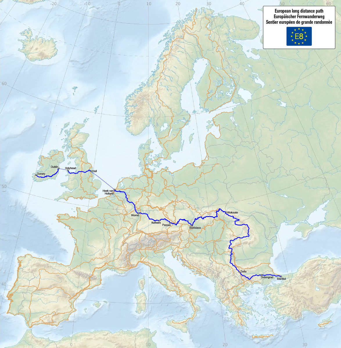 E8 - European Long Distance Path